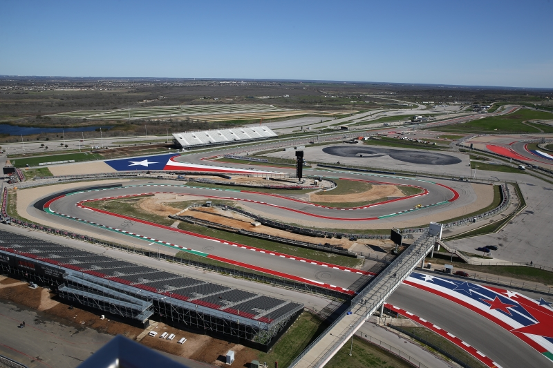 Scenic shot of the eastern portion of Circuit of The Americas in Austin, TX during the 2019 Open Test -- Photo by: Chris Jones