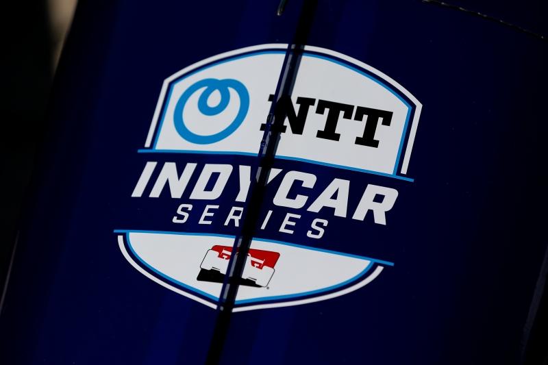 The NTT IndyCar Series logo makes its debut at the Circuit of the Americas. Photo by Joe Skibinski