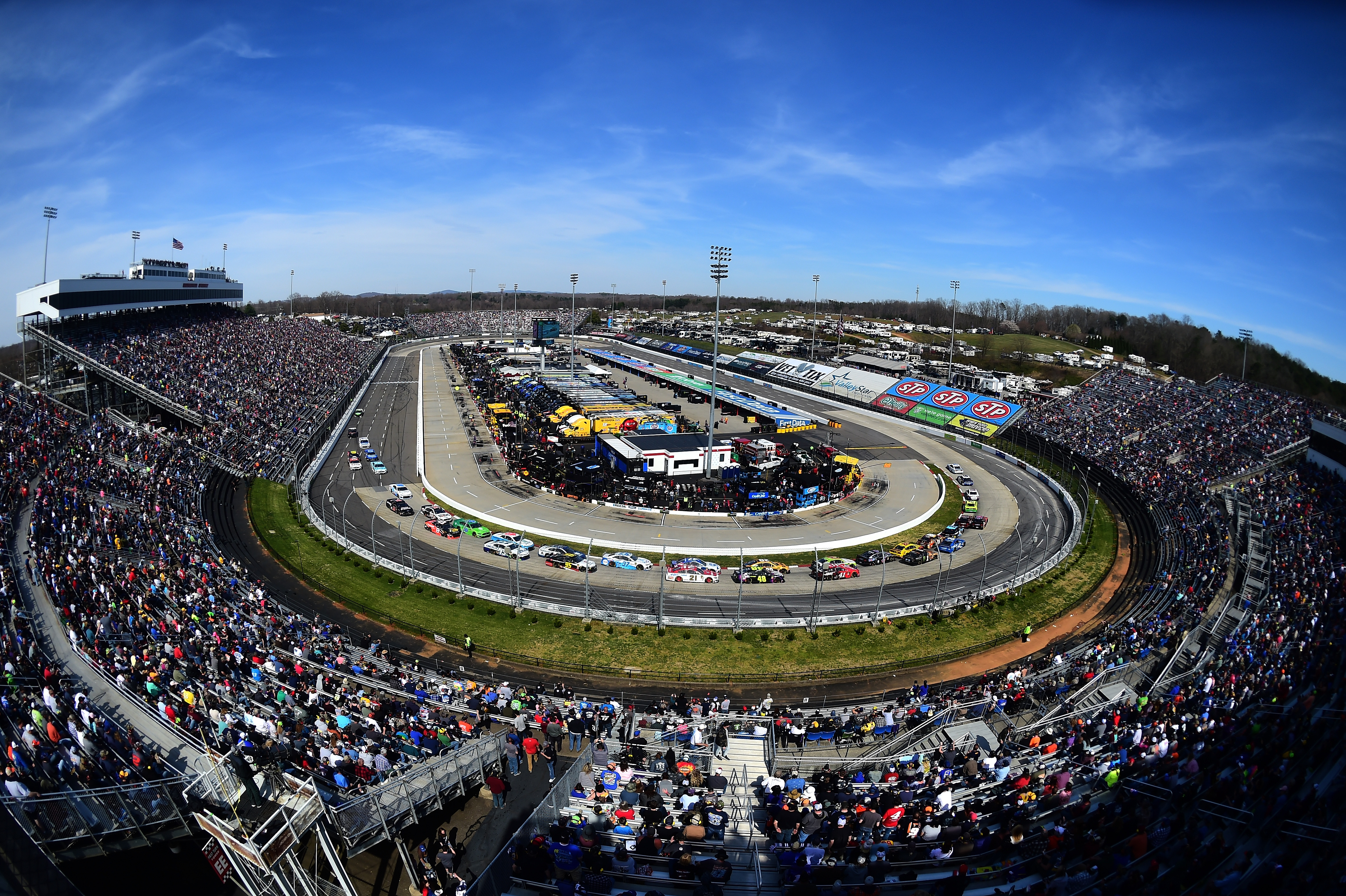 Nascar Race Day Preview Martinsville Speedway